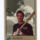 1992 Studio Baseball #002 Sid Bream - Atlanta Braves