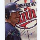 1993 Studio Baseball #191 Mike Pagliarulo - Minnesota Twins
