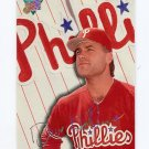 1993 Studio Baseball #158 Dave Hollins - Philadelphia Phillies