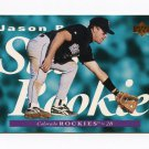 1995 Upper Deck Baseball #240 Jason Bates - Colorado Rockies Ex