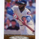 1996 Upper Deck Baseball #033 Brian McRae - Chicago Cubs