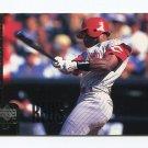 1998 Upper Deck Baseball #340 Reggie Sanders - Cincinnati Reds