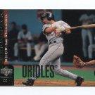 1998 Upper Deck Baseball #309 Mike Bordick - Baltimore Orioles