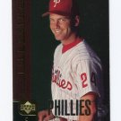 1998 Upper Deck Special F/X Baseball #100 Mike Lieberthal - Philadelphia Phillies