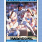 1992 Donruss Baseball #750 Roger McDowell - Los Angeles Dodgers