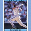 1992 Donruss Baseball #693 Joe Carter - Toronto Blue Jays