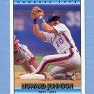 1992 Donruss Baseball #341 Howard Johnson - New York Mets