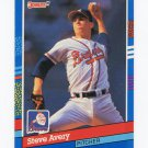 1991 Donruss Baseball #187 Steve Avery - Atlanta Braves