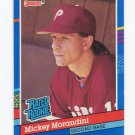 1991 Donruss Baseball #044 Mickey Morandini - Philadelphia Phillies