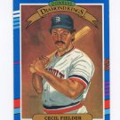 1991 Donruss Baseball #003 Cecil Fielder - Detroit Tigers