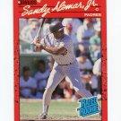 1990 Donruss Baseball #030 Sandy Alomar Jr. - San Diego Padres