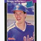 1989 Donruss Baseball #035 Gregg Jefferies - New York Mets