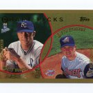 1999 Topps Baseball #216 Matt Burch / Seth Etherton RC - Royals / Angels