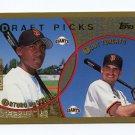 1999 Topps Baseball #214 Arturo McDowell / Tony Torcato RC - San Francisco Giants