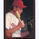 1993 Triple Play Baseball #129 Equipment / Curt Schilling - Philadelphia Phillies