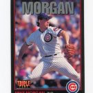1993 Triple Play Baseball #076 Mike Morgan - Chicago Cubs