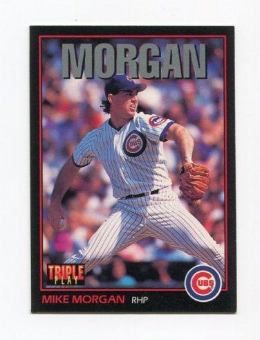 1993 Triple Play Baseball #076 Mike Morgan - Chicago Cubs