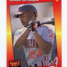 1992 Triple Play Baseball #024 Reggie Jefferson - Cleveland Indians