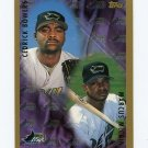 1998 Topps Baseball #501 Cedrick Bowers / Marcus McCain - Tampa Bay Devil Rays