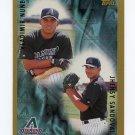 1998 Topps Baseball #498 Jhensy Sandoval / Vladimir Nunez - Arizona Diamondbacks