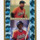 1998 Topps Baseball RC #490 Darnell McDonald / Ntema Ndungidi - Baltimore Orioles