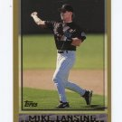 1998 Topps Baseball #459 Mike Lansing - Colorado Rockies