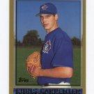 1998 Topps Baseball #442 Chris Carpenter - Toronto Blue Jays