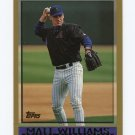 1998 Topps Baseball #439 Matt Williams - Arizona Diamondbacks