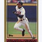 1998 Topps Baseball #410 Michael Tucker - Atlanta Braves