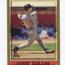 1998 Topps Baseball #382 Todd Greene - Anaheim Angels