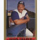1998 Topps Baseball #374 Cecil Fielder - Anaheim Angels