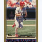1998 Topps Baseball #341 Gregg Jefferies - Philadelphia Phillies