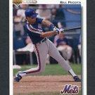 1992 Upper Deck Baseball #793 Bill Pecota - New York Mets