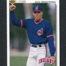 1992 Upper Deck Baseball #789 Jack Armstrong - Cleveland Indians