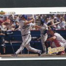 1992 Upper Deck Baseball #783 Kevin Seitzer - Milwaukee Brewers