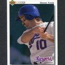 1992 Upper Deck Baseball #769 Dickie Thon - Texas Rangers