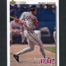 1992 Upper Deck Baseball #766 Kenny Lofton - Cleveland Indians