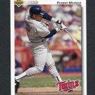 1992 Upper Deck Baseball #764 Pedro Munoz - Minnesota Twins