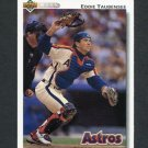 1992 Upper Deck Baseball #757 Eddie Taubensee RC - Houston Astros