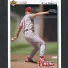 1992 Upper Deck Baseball #754 Kyle Abbott - Philadelphia Phillies