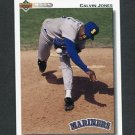 1992 Upper Deck Baseball #731 Calvin Jones - Seattle Mariners
