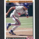 1992 Upper Deck Baseball #719 Marquis Grissom DS - Montreal Expos