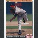 1992 Upper Deck Baseball #713 Tom Glavine DS - Atlanta Braves