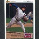 1992 Upper Deck Baseball #703 Mike Morgan - Chicago Cubs
