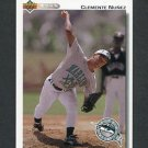 1992 Upper Deck Baseball #701 Clemente Nunez RC - Florida Marlins