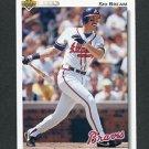 1992 Upper Deck Baseball #495 Sid Bream - Atlanta Braves