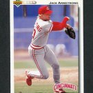 1992 Upper Deck Baseball #296 Jack Armstrong - Cincinnati Reds