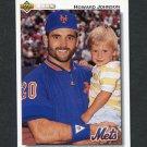 1992 Upper Deck Baseball #256 Howard Johnson - New York Mets