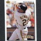 1992 Upper Deck Baseball #225 Bobby Bonilla - Pittsburgh Pirates