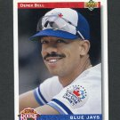 1992 Upper Deck Baseball #026 Derek Bell - Toronto Blue Jays